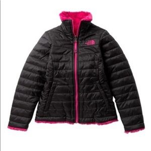 North Face Reversible Mossbud Swirl Jacket